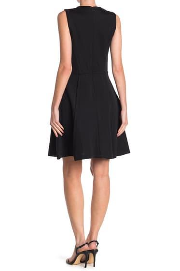 Imbracaminte Femei Proenza Schouler Neoprene Fit Flare Sleeveless Dress BLACK
