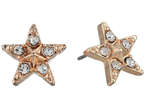 Bijuterii Femei Betsey Johnson Star Stud Earrings Crystal