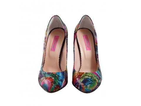 Incaltaminte Femei Hotstepper Pantofi Revolution Madness Multicolor