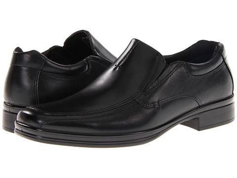 Incaltaminte Barbati Hush Puppies Quatro Slip On BK Black Leather