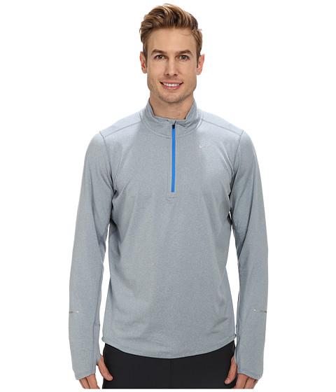 Imbracaminte Barbati Nike Element Half-Zip Magnet GreyHeatherPhoto BlueReflective Silver