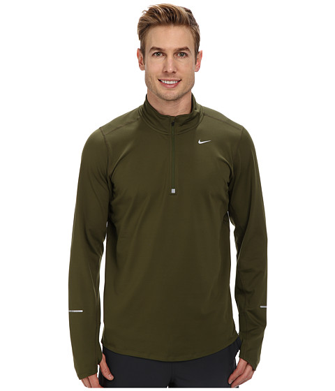 Imbracaminte Barbati Nike Element Half-Zip Rough GreenRough GreenReflective Silver