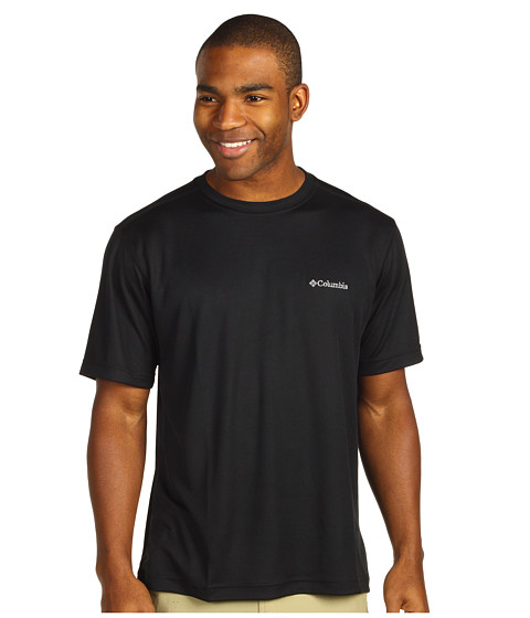 Imbracaminte Barbati Columbia Meeker Peaktrade Short Sleeve Crew Black