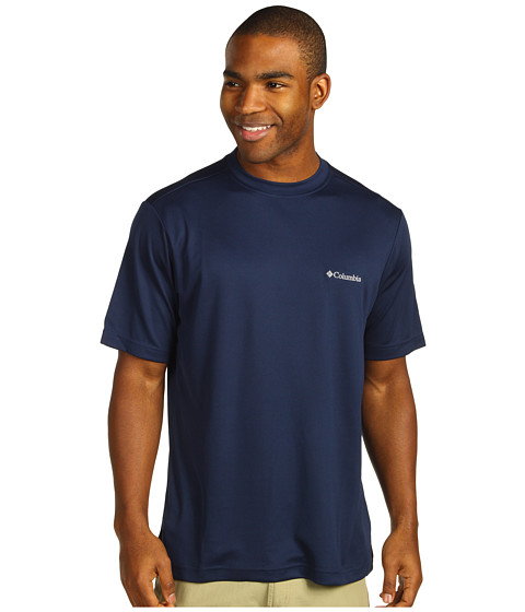 Imbracaminte Barbati Columbia Meeker Peaktrade Short Sleeve Crew Collegiate Navy