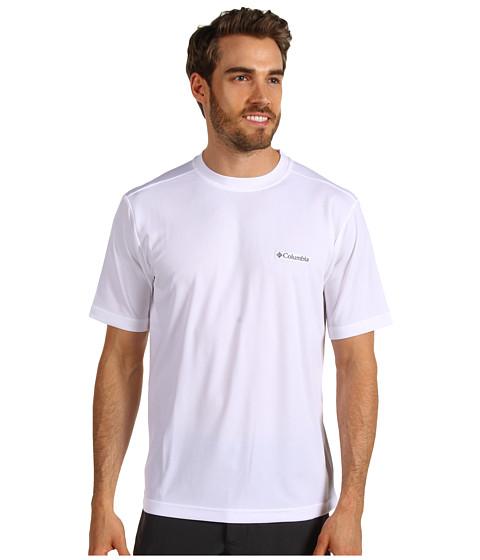 Imbracaminte Barbati Columbia Meeker Peaktrade Short Sleeve Crew White