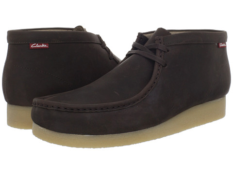 Incaltaminte Barbati Clarks Stinson Hi Brown Oily