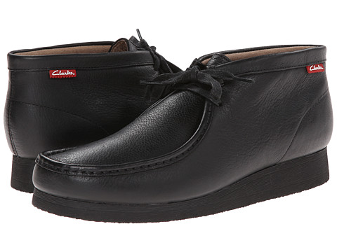 Incaltaminte Barbati Clarks Stinson Hi Black Oily Leather