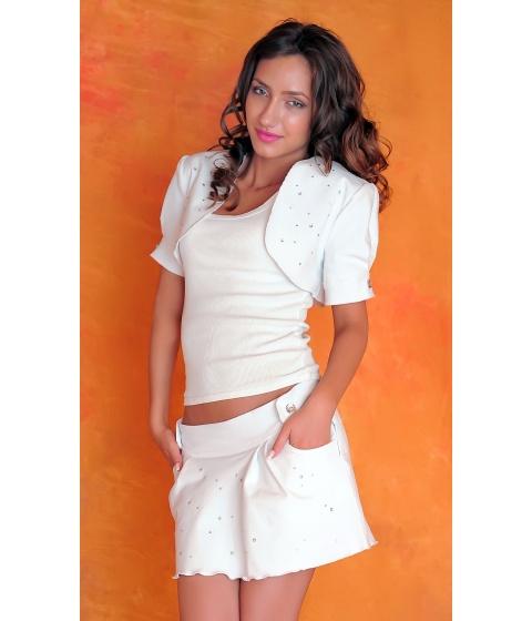Imbracaminte Femei Sevy Bolero White Passion Universala