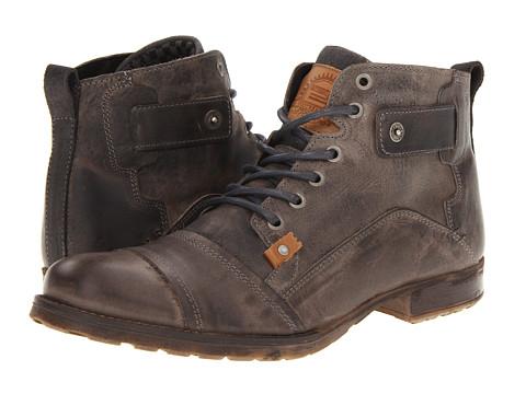 Incaltaminte Barbati Type Z Harvey Grey Leather