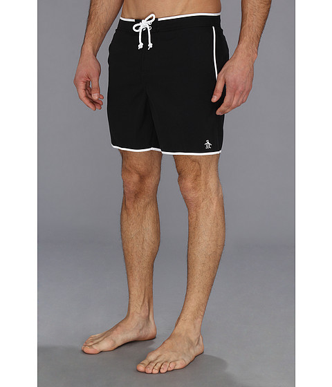 Imbracaminte Barbati Original Penguin Earl Volley Swim Short True Black