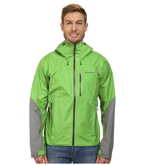 Imbracaminte Barbati Patagonia Torrentshell Stretch Jacket Cilantro wFeather Grey