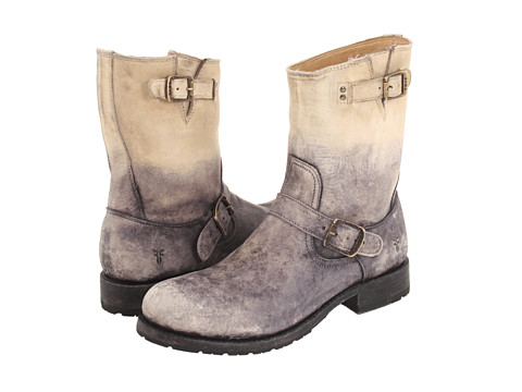 Incaltaminte Barbati Frye Rogan Engineer Stone Stone Wash Leather