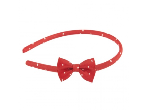 Accesorii Femei Tie Me Up Headband cu fundita Pretty Woman rosu Universala