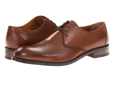 Incaltaminte Barbati Johnston Murphy Hartley Plain Toe Brown Calfskin
