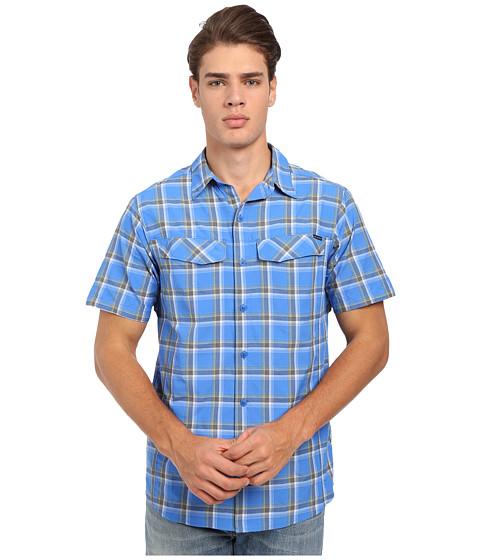 Imbracaminte Barbati Columbia Silver Ridgetrade Multi Plaid SS Shirt Super Blue Heather Plaid