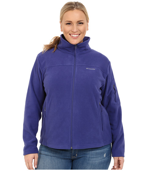 Imbracaminte Femei Columbia Plus Size Fast Trektrade II Full Zip Fleece Jacket Skyward