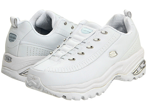 Incaltaminte Femei SKECHERS Premix White Leather