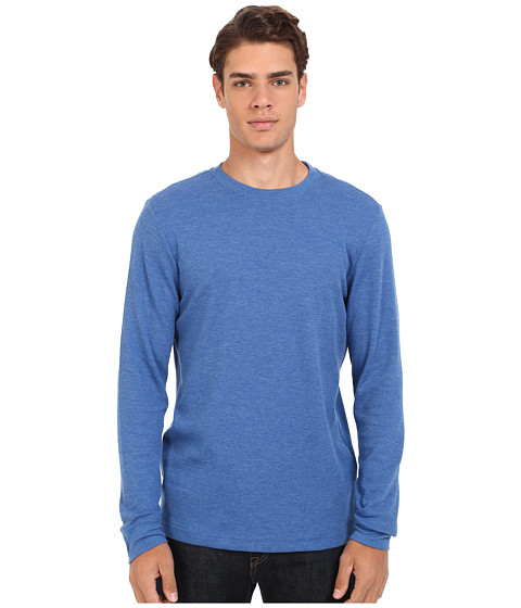 Imbracaminte Barbati Hurley Staple LS Thermal Heather Royal