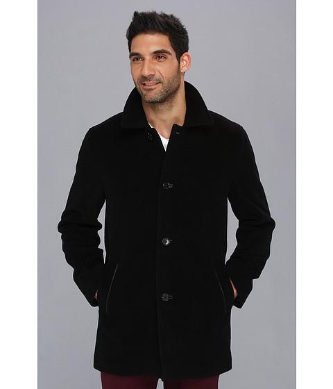Imbracaminte Barbati Cole Haan Classic Italian Wool Topper Black