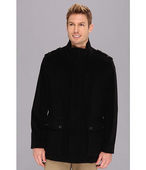 Imbracaminte Barbati Cole Haan Italian Wool Military Jacket Black