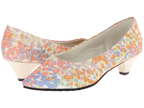 Incaltaminte Femei Soft Style Alesia Pastel Floral Grosgrain
