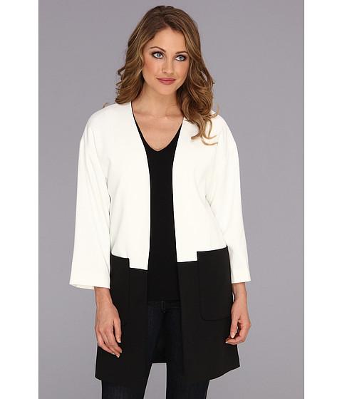 Imbracaminte Femei Calvin Klein Colorblock Open Ponte Jacket Birch