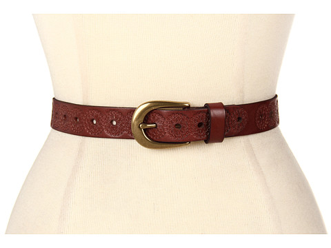 Accesorii Femei Fossil Floral Emboss Brown Brown