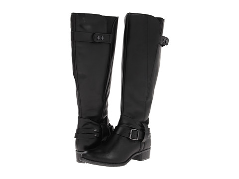 Cizme Femei Hush Puppies Chamber 14bt Wide Calf Black Wp Leather