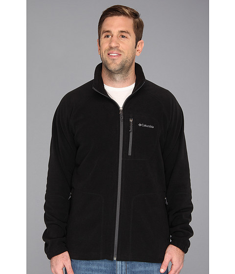 Imbracaminte Barbati Columbia Big amp Tall Fast Trektrade II Full Zip Fleece Black
