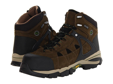 Incaltaminte Barbati Timberland Hyperion WP Insulated Safety Toe Olive Brown