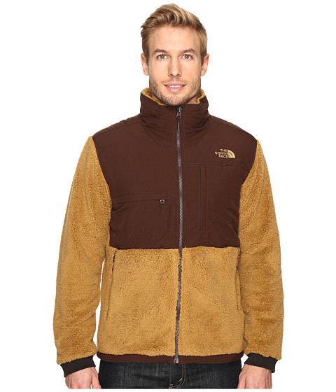 Imbracaminte Barbati The North Face Novelty Denali Jacket Dijon Brown SherpaCoffee Bean Brown (Prior Season)
