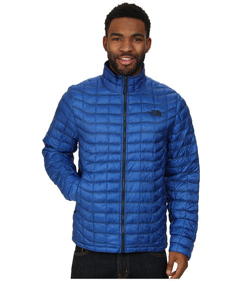 Imbracaminte Barbati The North Face ThermoBalltrade Full Zip Jacket Monster Blue
