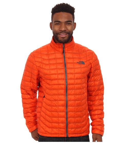Imbracaminte Barbati The North Face ThermoBalltrade Full Zip Jacket Seville Orange