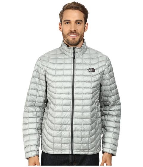 Imbracaminte Barbati The North Face ThermoBalltrade Full Zip Jacket High Rise GreyAsphalt Grey