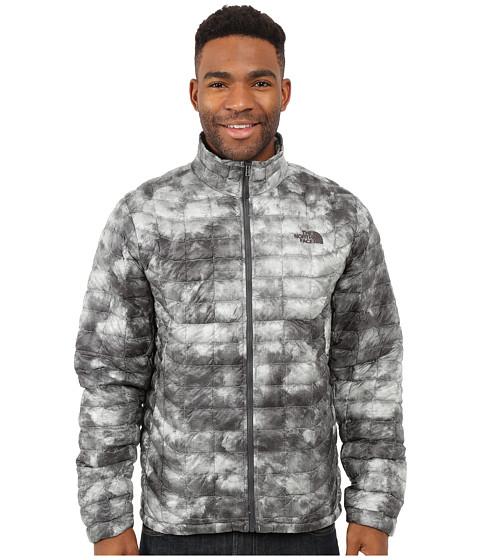 Imbracaminte Barbati The North Face ThermoBalltrade Full Zip Jacket Asphalt Grey Cirrus Print