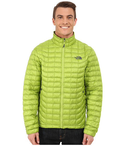 Imbracaminte Barbati The North Face ThermoBalltrade Full Zip Jacket Macaw Green