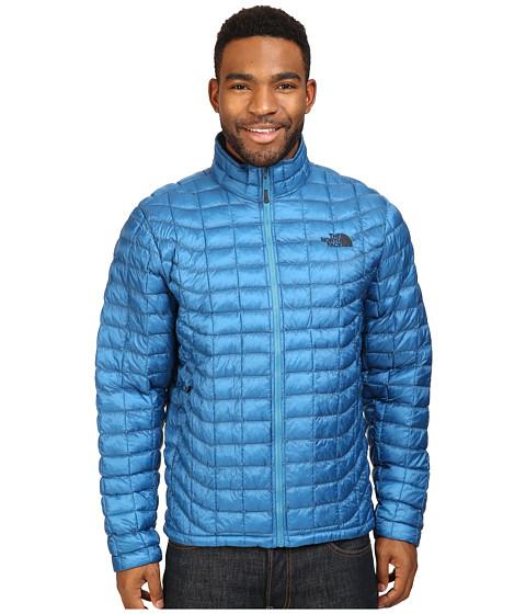 Imbracaminte Barbati The North Face ThermoBalltrade Full Zip Jacket Banff Blue (Prior Season)