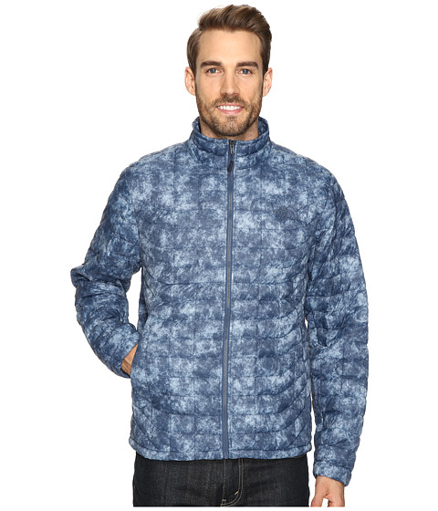 Imbracaminte Barbati The North Face ThermoBalltrade Full Zip Jacket Shady Blue Process Print (Prior Season)