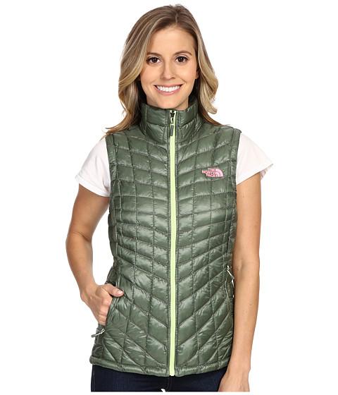 Imbracaminte Femei The North Face ThermoBalltrade Vest Laurel Wreath Green (Prior Season)