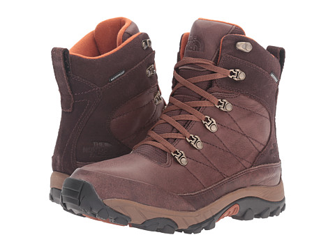Incaltaminte Barbati The North Face Chilkat Leather Coffee Bean BrownGingerbread Brown (Prior Season)