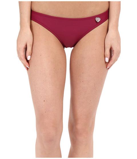 Imbracaminte Femei Body Glove Smoothies Basic Bikini Bottom Black Plum