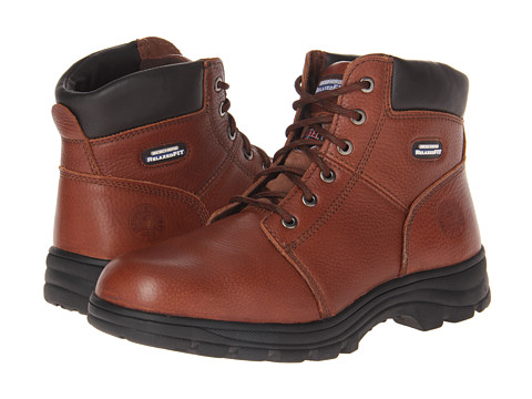 Incaltaminte Barbati SKECHERS Workshire - Relaxed Fit Brown