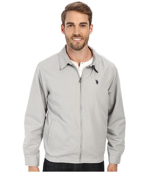 Imbracaminte Barbati US Polo Assn Mico Golf Jacket Small Pony Limestone