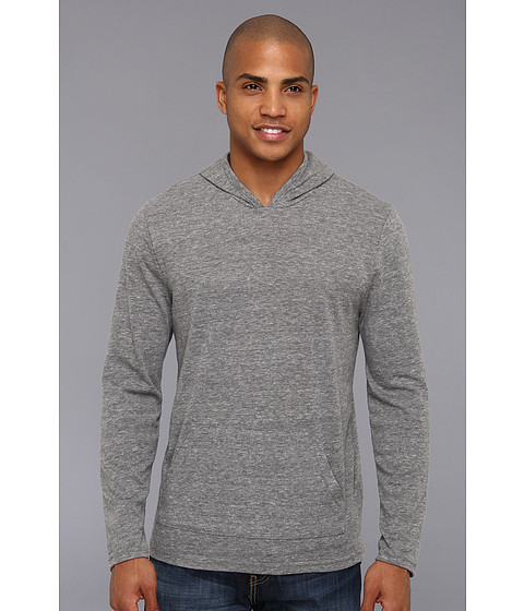 Imbracaminte Barbati Alternative Apparel Marathon Pullover Hoodie Eco Grey