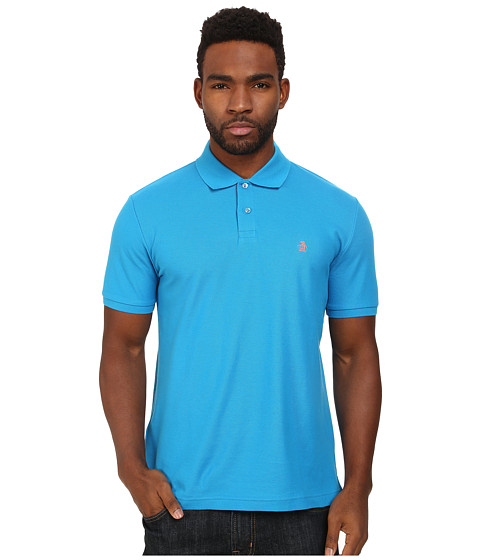 Imbracaminte Barbati Original Penguin Daddy-O Polo Diva Blue