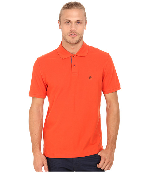 Imbracaminte Barbati Original Penguin Daddy-O Polo Red Clay