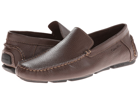 Incaltaminte Barbati Calvin Klein Menton Med Brown Tumbled Leather