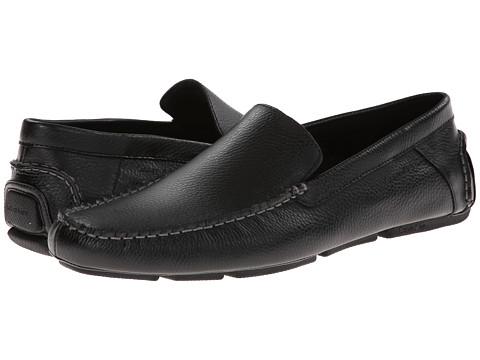 Incaltaminte Barbati Calvin Klein Menton Black Tumbled Leather