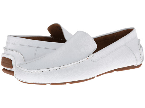 Incaltaminte Barbati Calvin Klein Menton White Tumbled Leather