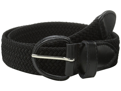 Accesorii Barbati Florsheim Braided Elastic Stretch Belt 35mm Black